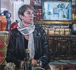 'Tamson, Kilburn', 140 x 146 cm, acrylic on canvas, 2013