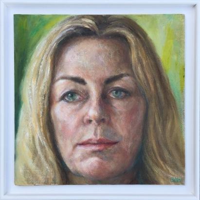 christine-klein-self-portrait-in-frame