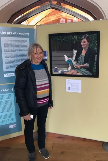 Hilary Puxley Art of Reading Cambridge Literary Festival