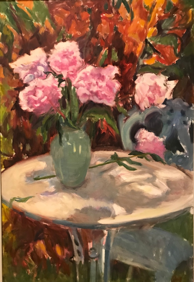 Colleen Quill Garden Peonies oil on canvas 64x94cm £1950.jpg