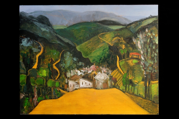Lucinda Rendall Landscape in Andalusia oil on canvas 75x60cm £800.jpg