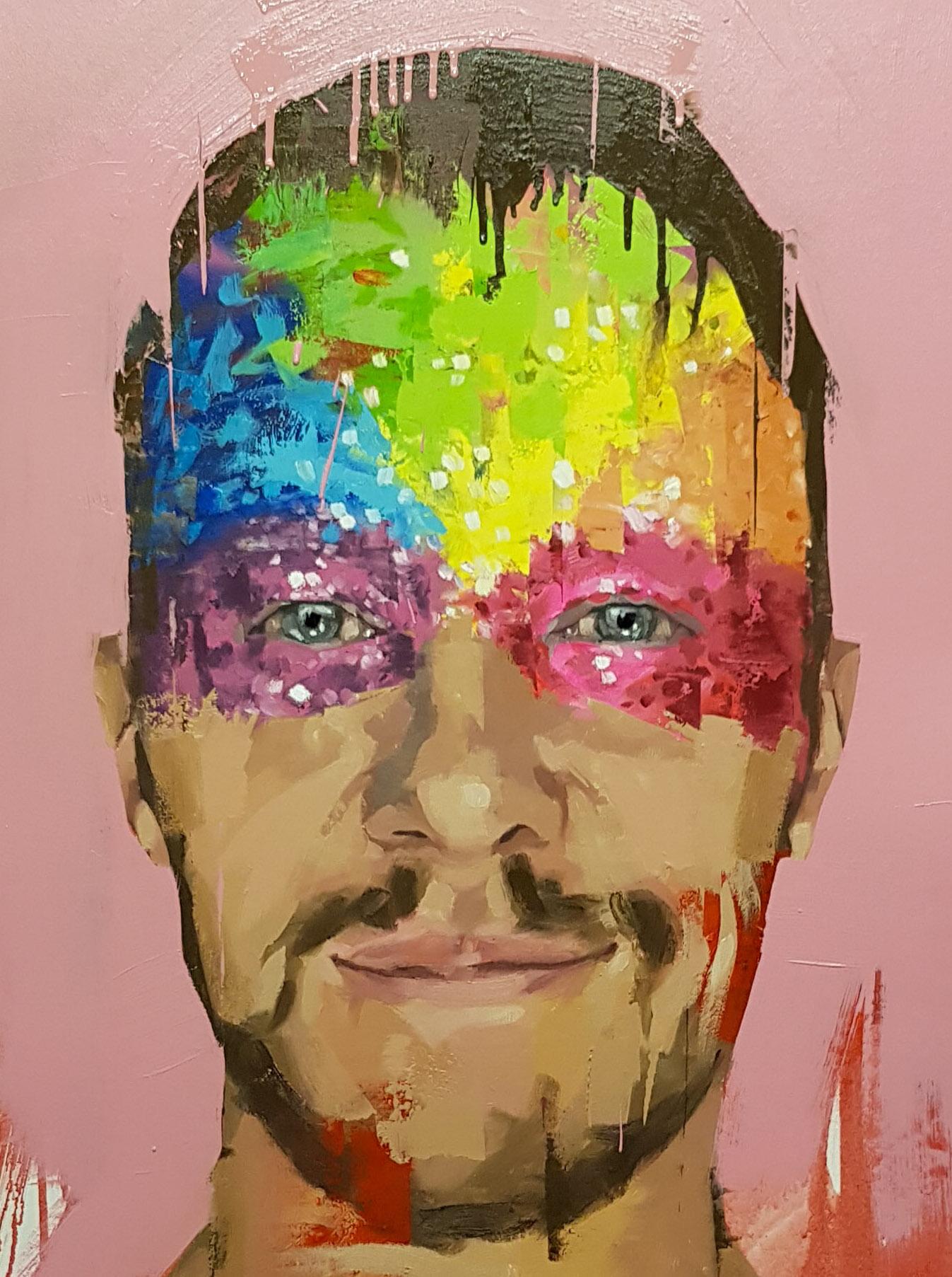 Stuart Howitt Love is forever oil on canvas 55x77cm